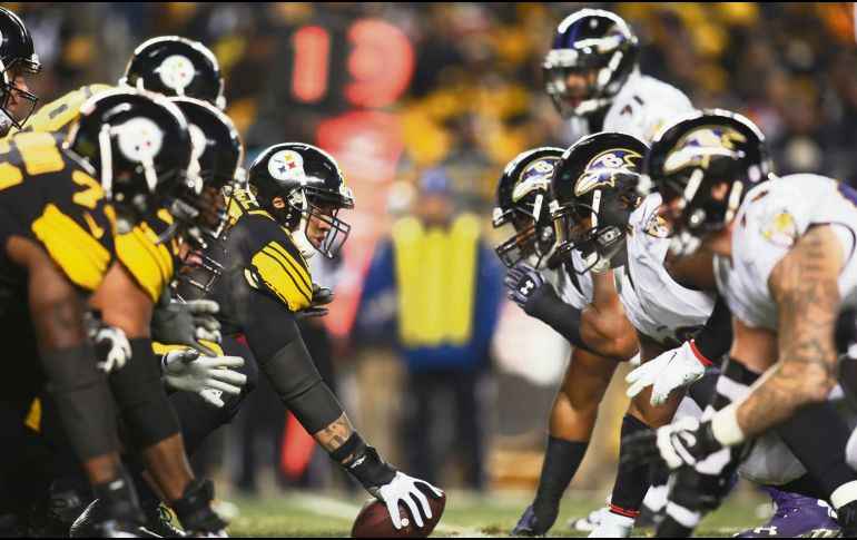 Hunden Ravens a Steelers en la División [NFL]