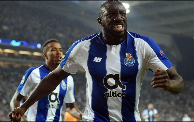 Moussa Marega anotó el único gol del encuentro al minuto 49. AFP   F. 7d95d4322df76