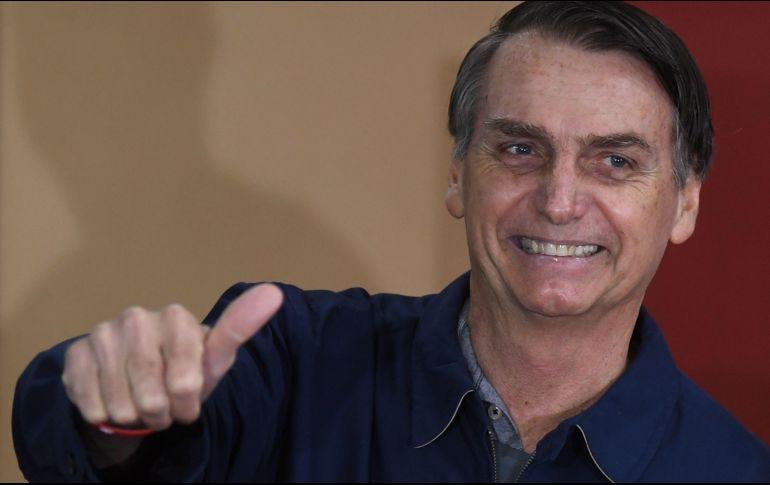 Bolsonaro y Haddad irán a segunda vuelta