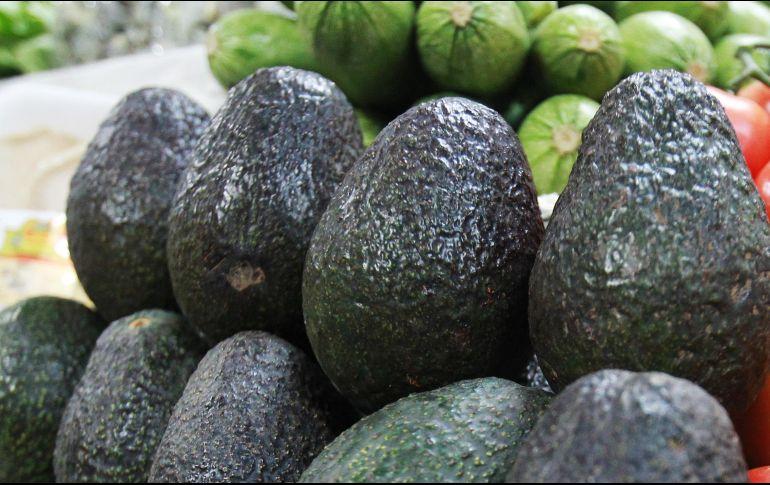 El fruto verde se mantiene en 55 pesos por kilo en el mercado Felipe Ángeles. NTX / ARCHIVO