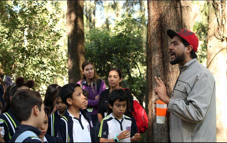 Los niños reciben talleres para la cultura y el cuidado del medio ambiente. EL INFORMADOR/E. Barrera