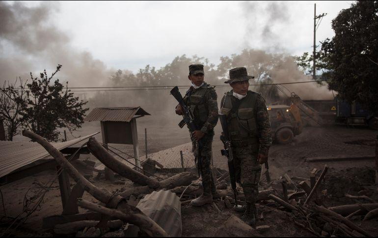 Volcán de Fuego de Guatemala inició nueva erupción