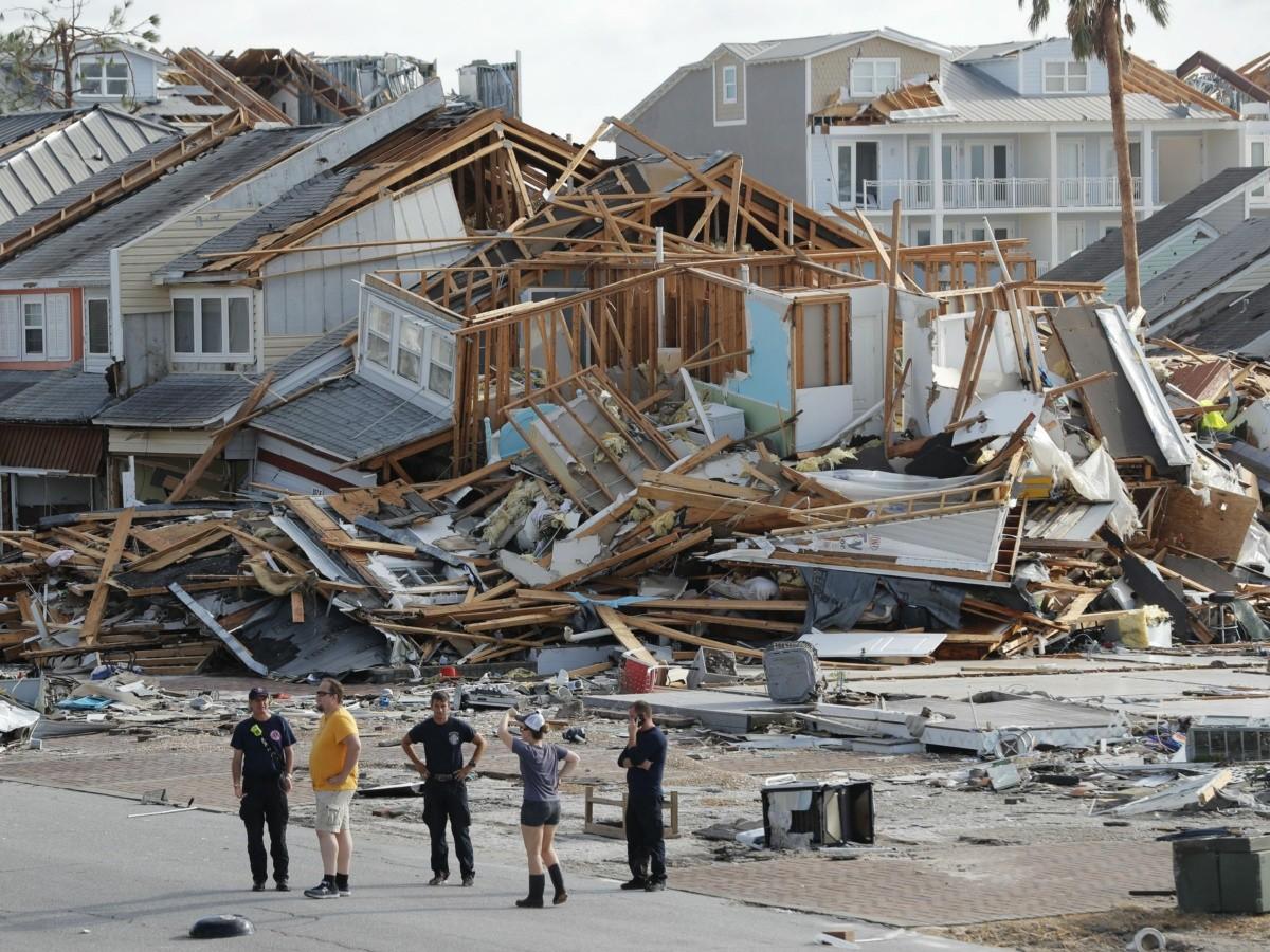 Resultado de imagen para destruccion en mexico beach