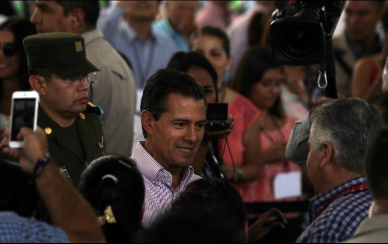 Inauguran Peña Nieto y Gali Fayad Foro Global Agroalimentario 2018