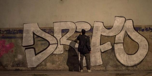 Grafiteros de Línea 3... con pintas hasta en Colima