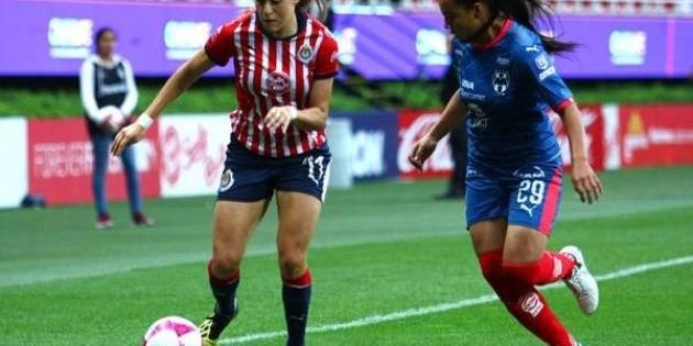 Monterrey derrota a Chivas en Liga MX Femenil