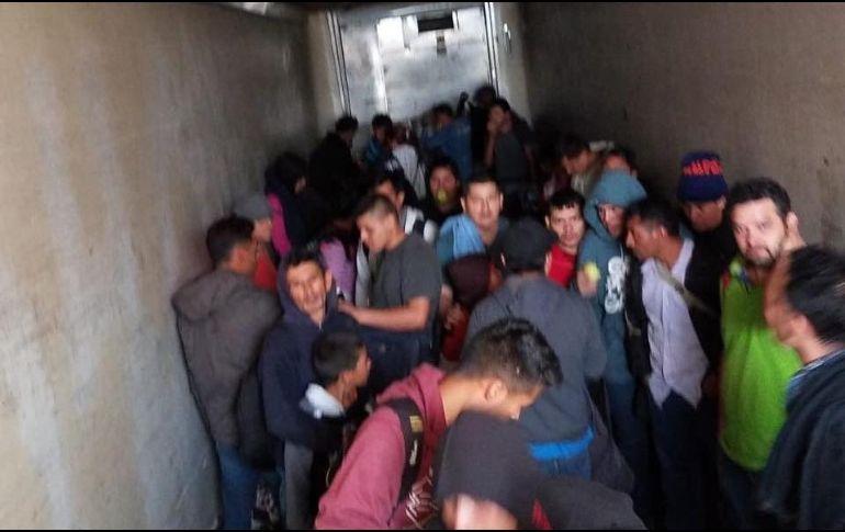 Rescatan a 159 migrantes en Coahuila; hay cuatro menores