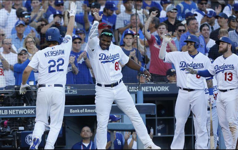 Los Dodgers se colocan a un paso de la Serie Mundial