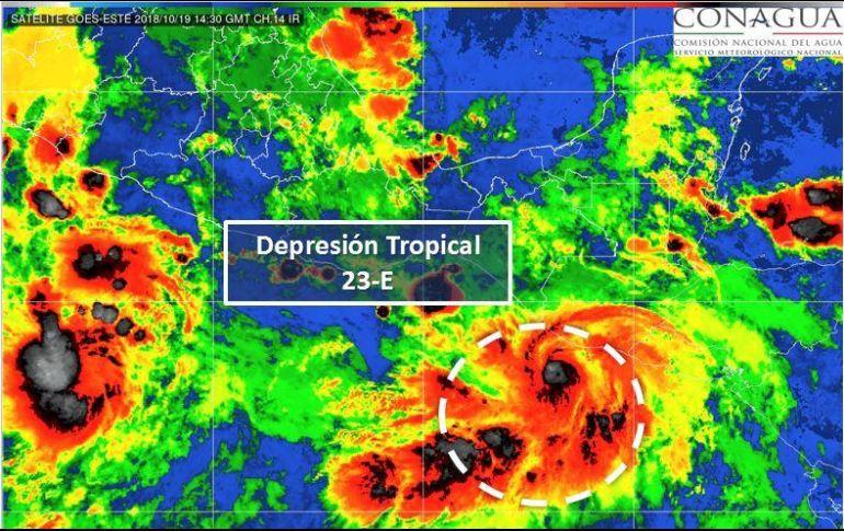 Tormenta tropical Vicente provocará lluvias intensas en sur y sureste de México