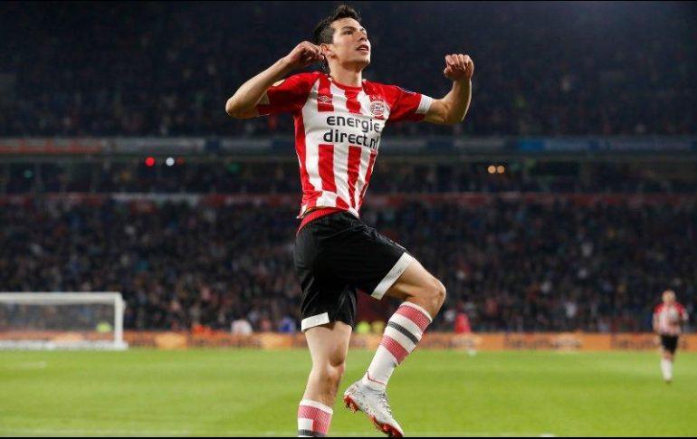 Chucky y Guti marcan en goleada del PSV
