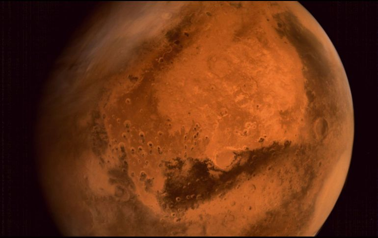 Detectan reservas de oxígeno en Marte