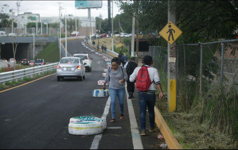 El área es una de las evidencias de la falta de inclusión del peatón en obra pública. EL INFORMADOR/F. Atilano