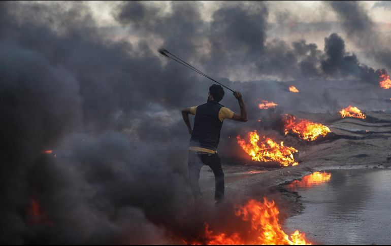 [VIDEO] Franja de Gaza: al menos 10 cohetes fueron disparados hacia Israel