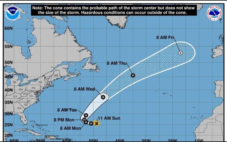 Óscar se convierte en huracán en el Atlántico