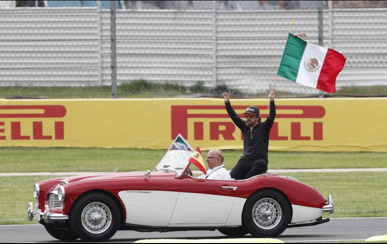 Abandono de Fernando Alonso en el Gran Premio de México