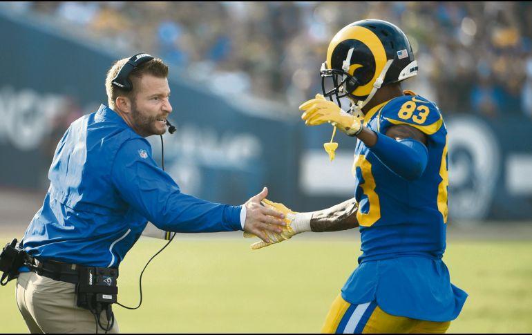 Rams vencen a los Packers y siguen con paso perfecto