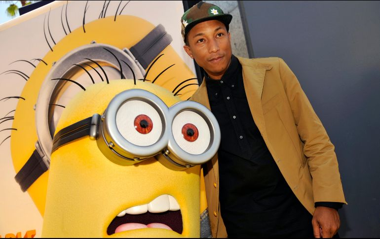 Pharrell Williams le prohíbe al presidente Trump usar su canción