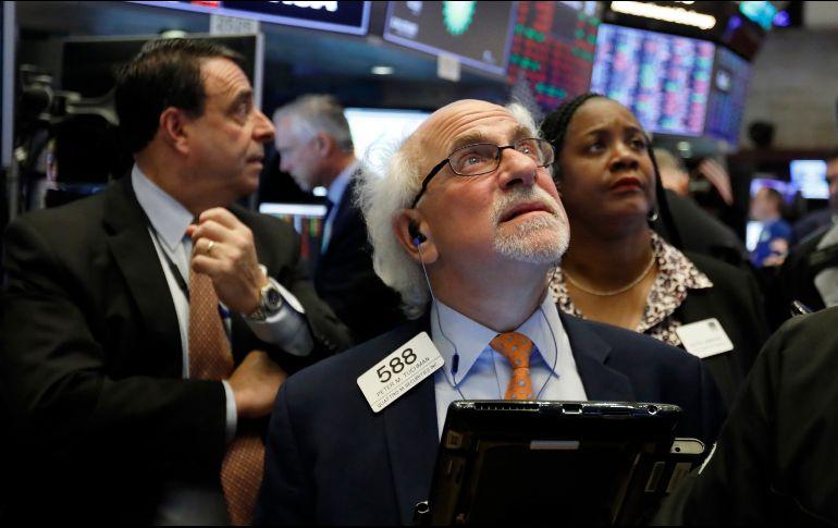 El NYSE Composite también sube 84.66 puntos al ubicarse en 12 mil 405.86 unidades. AP  ARCHIVO