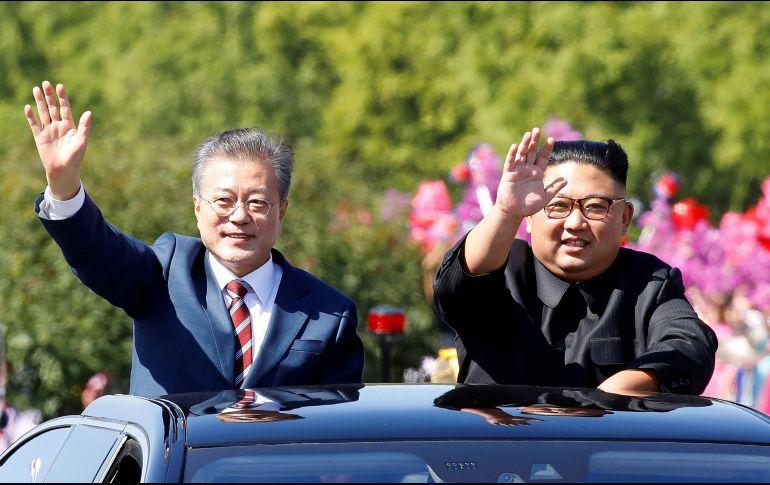 Gestos de conciliación entre Corea del Sur y Corea del Norte
