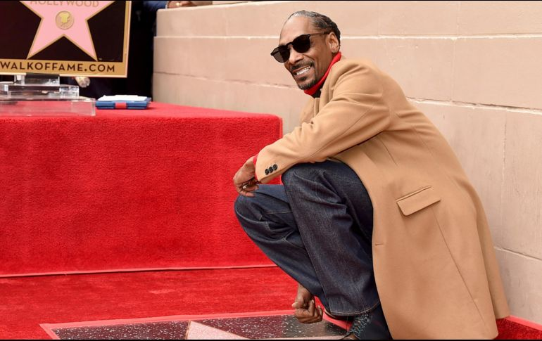 Snoop Dogg ha grabado 17 álbumes de estudio y ha sido nominado para casi 20 premios Grammy. AFP / K. Winter