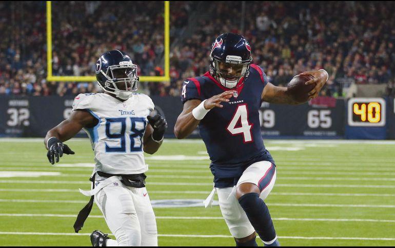 Texans ganan octavo juego al hilo vs Titans