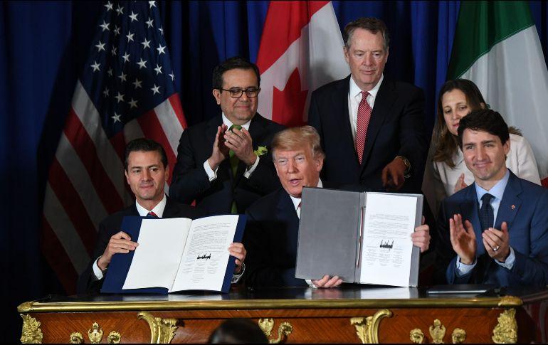 Resultado de imagen para México, EU y Canadá firman el T-MEC