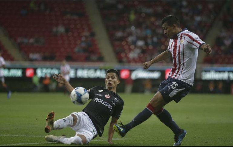En un torneo con Chivas, Sepúlveda anotó sólo un gol (en Copa, ante Morelia). EL INFORMADOR/ARCHIVO
