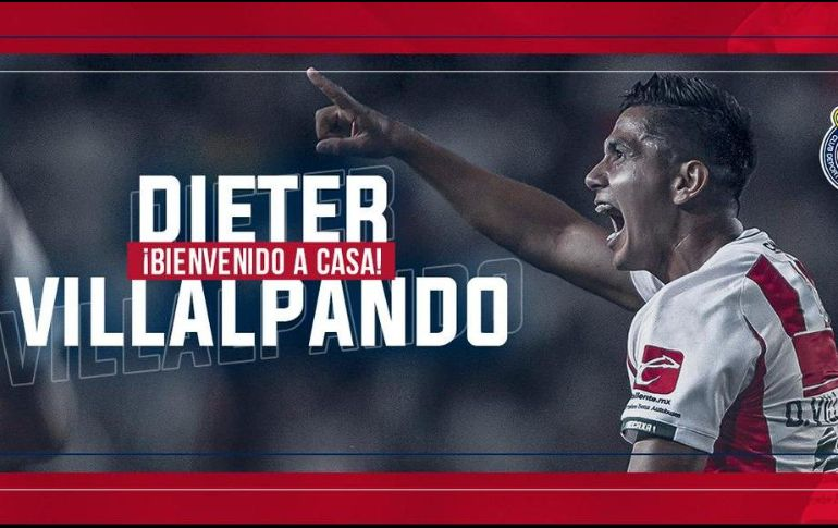 Dieter Villalpando, fichaje de Chivas para el torneo Clausura 2019