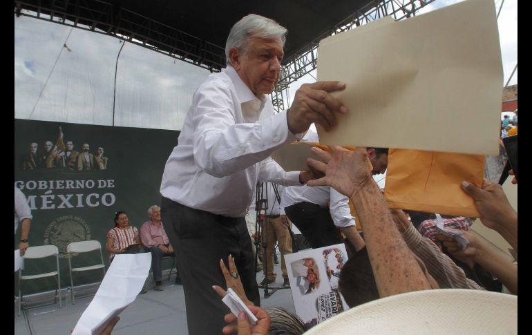 'Habrá cero corrupción en compra de medicamentos', asegura López Obrador