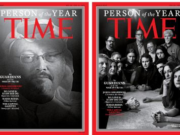 Time magazine unveils its
