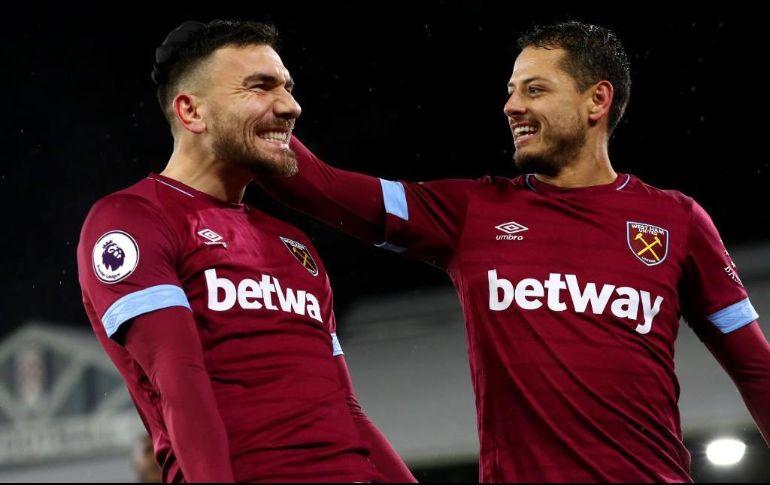 Con asistencia de ''Chicharito'', West Ham vence al Fulham