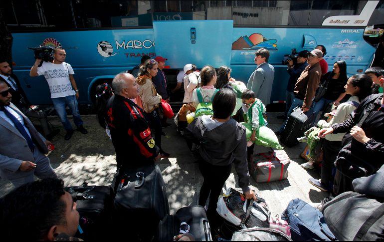 Gobierno implementa plan para repatriar a venezolanos
