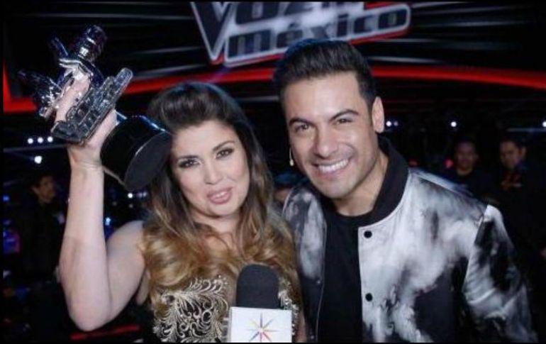 Cristina gana La Voz México 2018