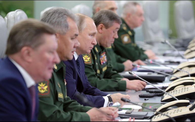 Así fue el lanzamiento de supermisil ruso imposible de interceptar, según Putin