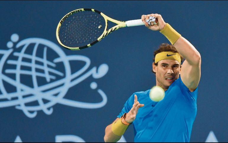 Nadal regresa y sucumbe ante Anderson en torneo de exhibición