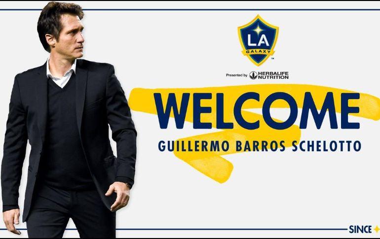 Oficial: Guillermo Barros Schelotto es el técnico del Galaxy
