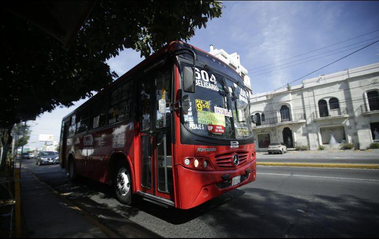 En 2017, Rodolfo Guadalajara, entonces titular del SIteur, aseguró que 25% de los autobuses contaría con el equipo de recarga de tarjeta. EL INFORMADOR/F. Atilano