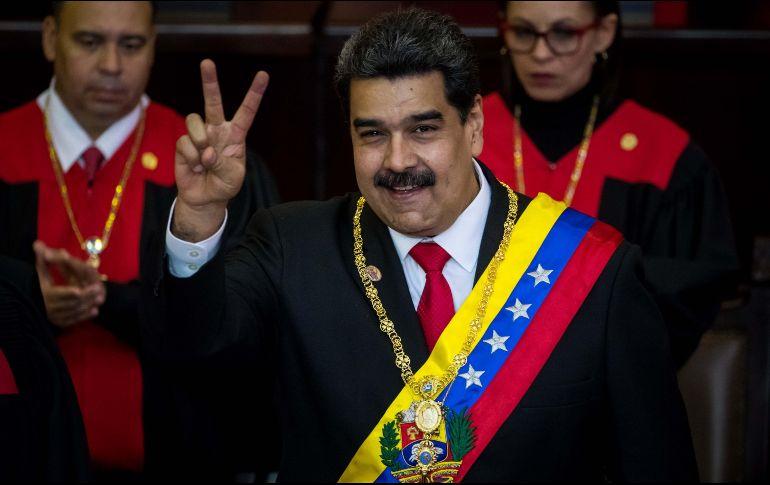 Nicolás Maduro da inicio a su segundo mandato presidencial en Venezuela. EFE / M. Gutiérrez