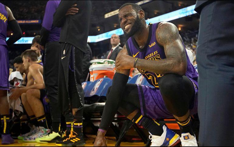 LeBron James, fuera al menos otros tres partidos