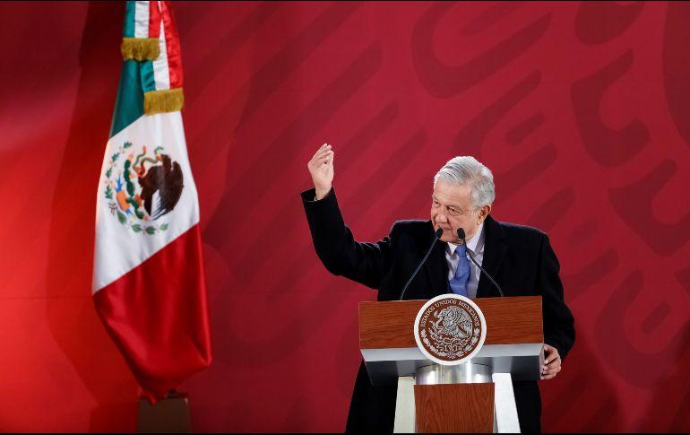En su conferencia de prensa matutina el Mandatario mexicano subraya que México