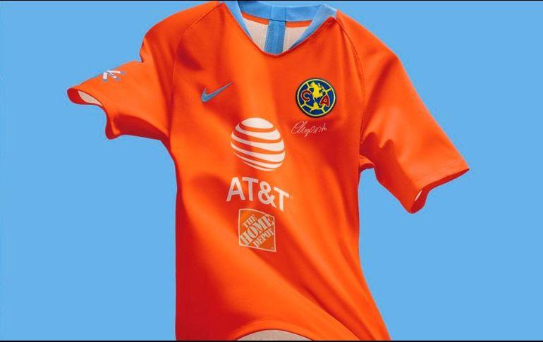 e518f4271 La camiseta será del mismo tono naranja que el uniforme que portó el    Chanfle