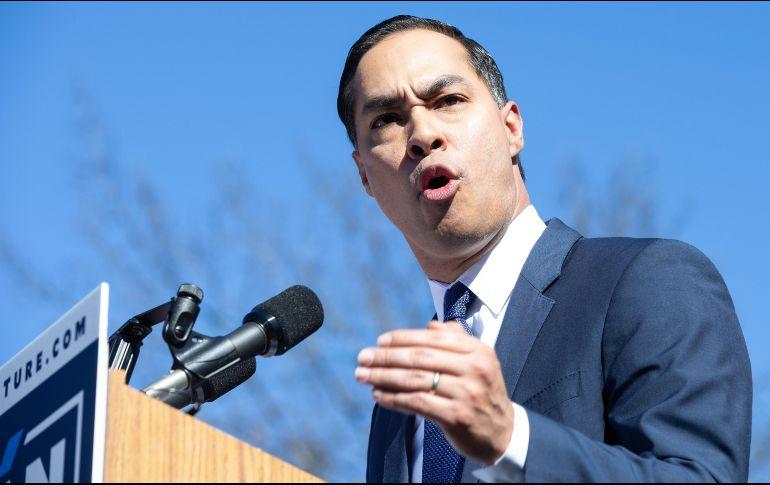 Demócrata de origen mexicano busca presidencia de EUA