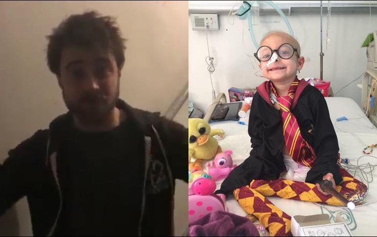 'Harry Potter' cumple sueño de niña mexicana con cáncer