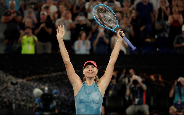 Australian Open: Sharapova eliminó a Wozniacki, vigente campeona