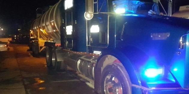 Policía Federal asegura casi 153 mil litros de combustible en el país