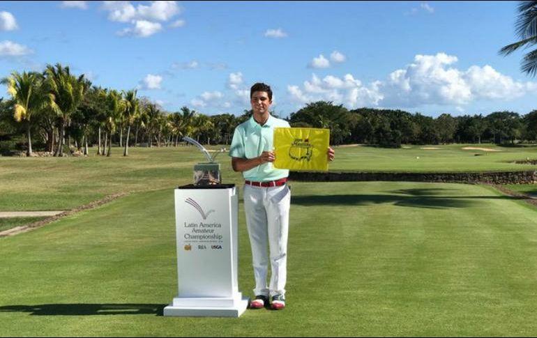 Golfista peruano entre los mejores del Latin America Amateur Championship