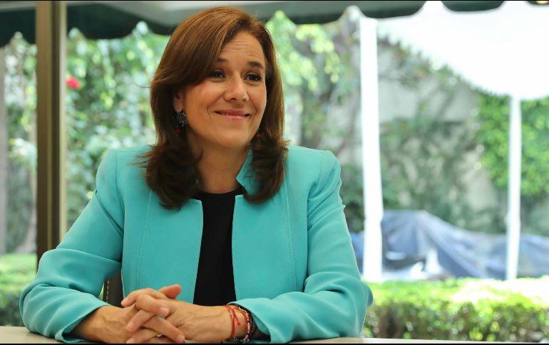 Registra Margarita Zavala a su partido 'México Libre'