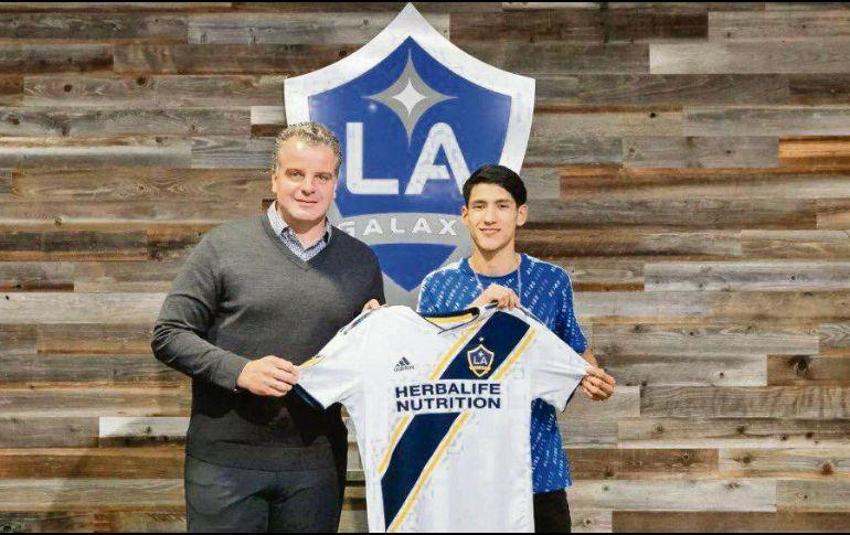 LA Galaxy da la bienvenida a Uriel Antuna