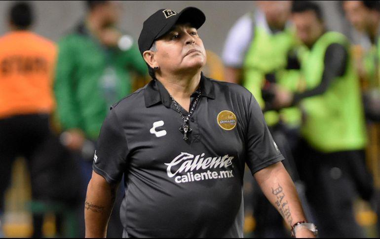 Maradona reaccionó al tatuaje de Gaspar Servio con su cara