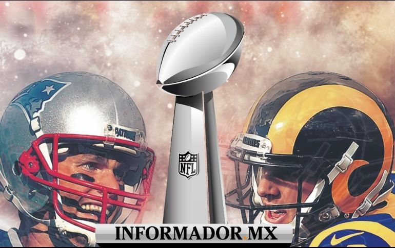 En tiempo real - Super Bowl LIII Rams vs Patriots